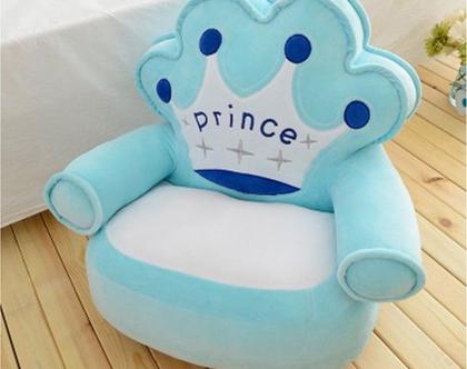 כורסת נסיך תכלת לילדים נעימה במיוחד