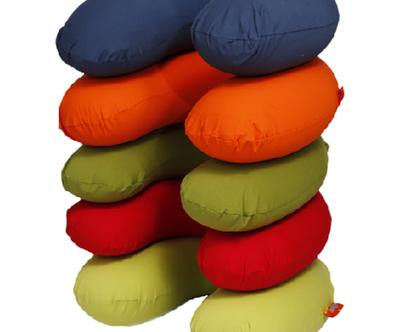 כרית הנקה / תמיכה בד נמתח במגוון צבעים