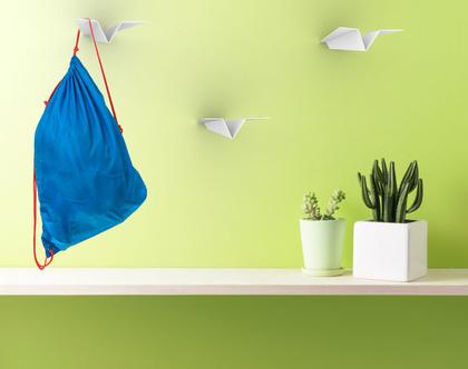 מטוסי נייר - סט מתלים - Paper Plane Hangers