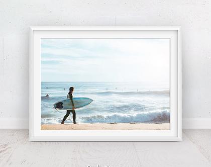 פוסטר גלישה | עיצוב הבית | תמונות גלישה | תמונות ים | תמונה לסלון | פוסטר לילדים | קליפורניה | תמונות למסגור | גולש | גלשן | סט תמונות לחדר