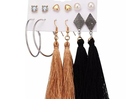 סט עגילים לאישה, מתנה לאישה, עגילים ליום יום, עגילים ליומיום, עגילים לחתונה, עגילים לאירוע