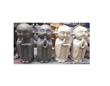 סט פסלונים | זוג בודהה | גובה 30 | אריחי קרמיקה | ***שילוח חינם*** |
