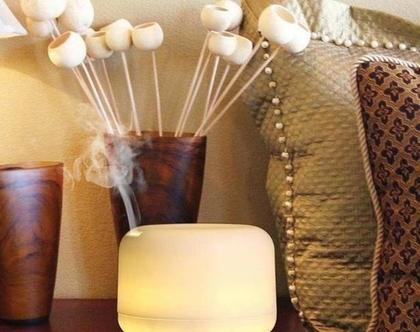 מבצע מפיץ ריח ארומאטי מהמם ביופיו לבית במיוחד לסלון 500מל מחליף צבעים כולל שמן ארומאטי טהור במתנה