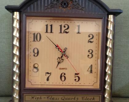 שעון קיר וינטאג|שעון קיר |שעונים לבית|שעונים|
