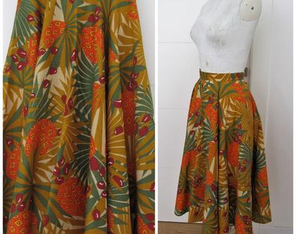 חצאית וינטג' מושלמת של כיתן ♥ חצאית מסתובבת ♥ חצאית קלוש
