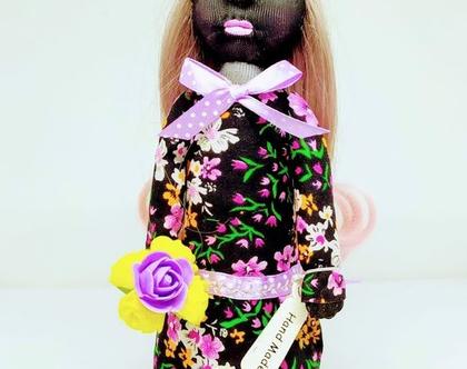 בובת גרב/ בובת נוי/ בובה מיוחדת ויחודית/בובה לתצוגה