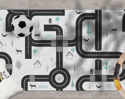 Maze - שטיח ויניל מעוצב