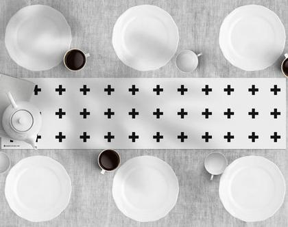 פלוס לבן - ראנר לשולחן ויניל, מבודד חום