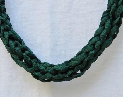 שרשרת ירוקה,שרשרת סרוגה, שרשרת בד ירוקה