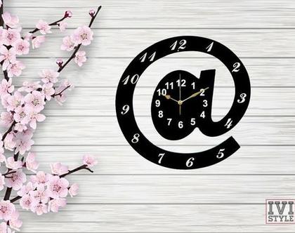 שעון קיר | שעון קיר מעץ | שעון מקורי לקיר |