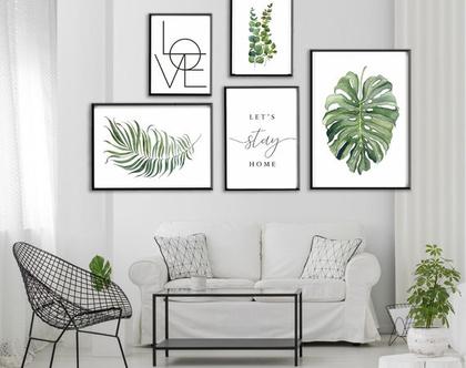קולאג אקלקטי -ECLEC3| סט הדפסים בעיצור מקורי |עיצוב נורדי| סט תמונות לעיצוב הבית | תמונות לסלון | תמונות מיוחדות לבית