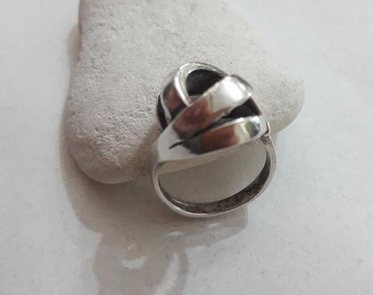 טבעת כסף וינטאג'