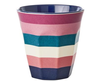 כוס מלמין טוטון פסים | RICE DK