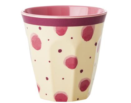 כוס מלמין טוטון צבעי מים ורוד | RICE DK