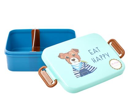 לאנץ' בוקס עם חלוקה | כלב | קופסת אוכל לילדים |BXLUN-FARMG