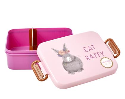 לאנץ' בוקס עם חלוקה | ארנבת | קופסת אוכל לילדים |BXLUN-FARMI