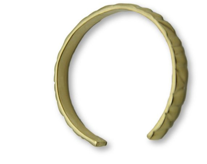 צמיד פתוח פצור מצופה זהב 18 קאראט