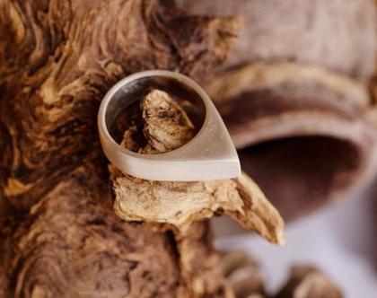 טבעת טיפה כסף 925