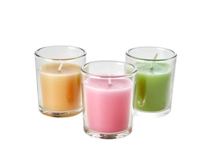 נר ריחני באריזת מתנה ב-3 צבעים | SOFI | RICE DK