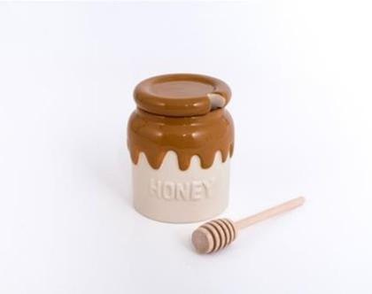כלי לדבש, כלי קרמיקה לדבש