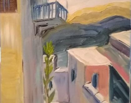 ציור בצבעי שמן, צפת