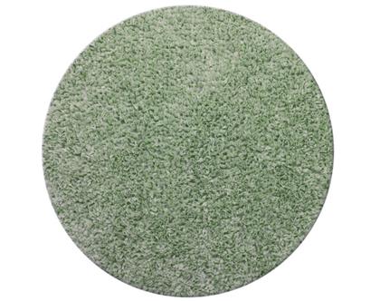 שטיח דיסקו עגול 120 מנטה כהה