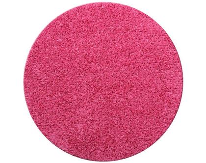 שטיח דיסקו עגול 130 פוקסיה