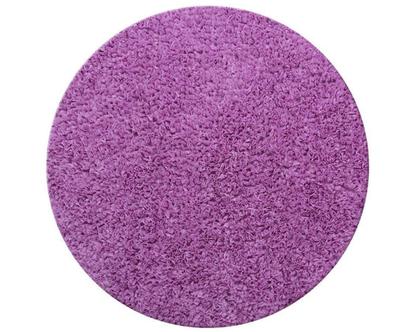 שטיח דיסקו עגול 130 סגול