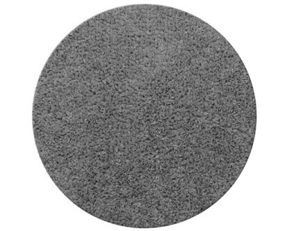 שטיח דיסקו עגול 130 אפור