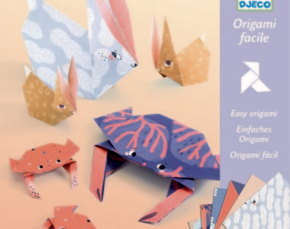אוריגמי משפחות חיות