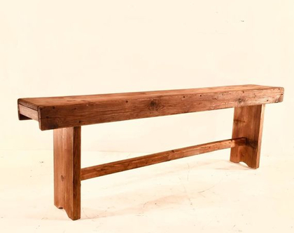 ספסל עץ עתיק