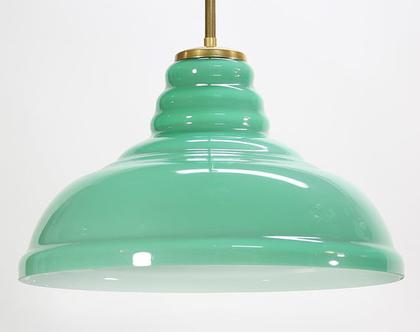 מנורת תקרה טורקיז, מנורה בצבע טורקיז, מנורת סלון טורקיז, מנורת תקרה ירוקה