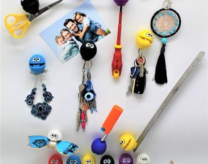 B-BALL,פטנט ישראלי שלי {: מעמד לטלפון שולחן/רכב ,מחזיק מפתחות לדלת, לתמונות ודפי ממו על המחשב,על המקרר, משחק לילדים...ועוד