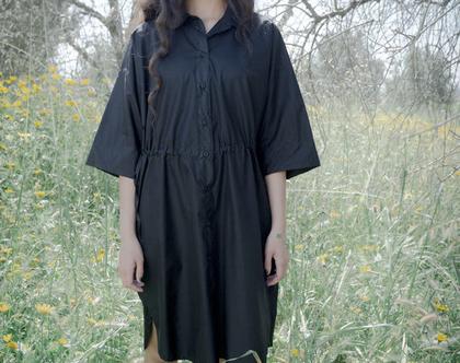שמלת לונה   שמלת מידי   שמלה שחורה   שמלה אוורירית