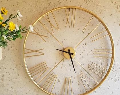 שעון ספרות רומיות קוטר 60 סמ