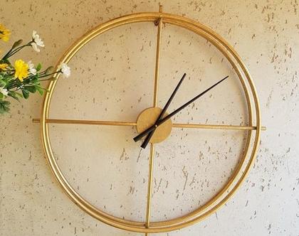 שעון חלול מווזהב קוטר 50 סמ
