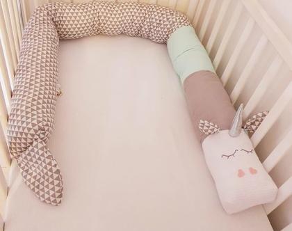 נחשוש מעוצב סוס/נחשוש, נחשוש מעוצב , מגן ראש נחשוש, נחשוש למיטת תינוק, נחשוש מעוצב, נחשוש למיטת מעבר, מתנה ליולדת, נחשוש לעריסת תינוק, עיצוב