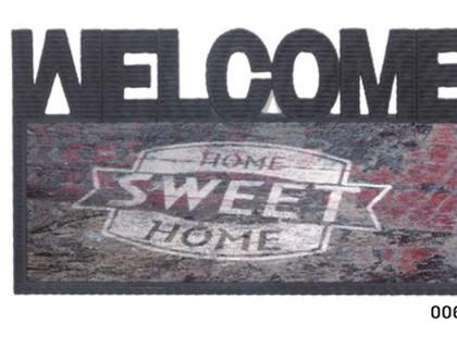 שטיחי כניסה חדשים לפתח הבית   מידרך גומי מעוצב l שטיח לדלת כניסה   שטיח סף מודפס