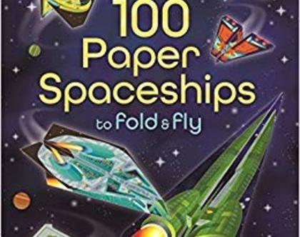ספר 100 מטוסי נייר חלליות