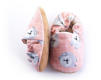נעלי טרום הליכה | נעליים רכות לתינוק | מיני שוז | כלב ים