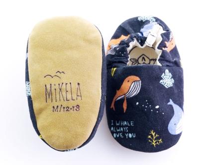 נעלי טרום הליכה | נעליים רכות לתינוק | מיני שוז | מתחת למים