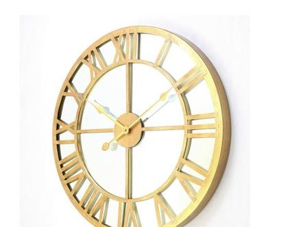 שעון קיר | קוטר 61 | זהב | *** השילוח חינם ***