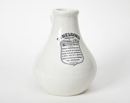 """משאף אדים עשוי קרמיקה, משאף האדים המשופר של ד""""ר נלסון"""