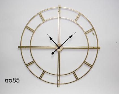 שעון קווים 84 זהב