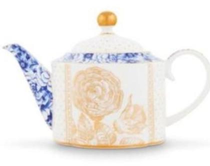 קנקן תה לבן ROYAL WHITE