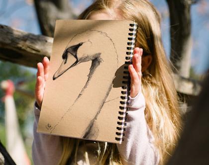 סקצ'בוק I מחברת ציור I מחברת מאויירת