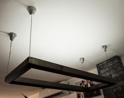 גוף תאורה לסלון או לפינת אוכל
