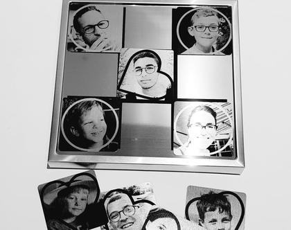 משחק לב עיגול  פסיפס תמונות   מתנות עם תמונה   תמונות   מתנות בעיצוב אישי   ליום הולדת   לסבתא   לסבא   לאמא   לאבא