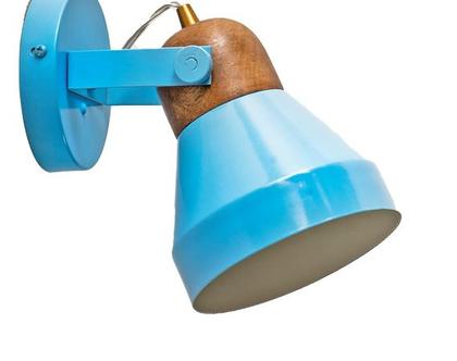 AM מנורת פרוג'קטור משולבת עץ