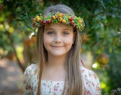 זר לראש מפרחים מלאכותיים |קישות לשולחן| קשת לשיער | פרחים לבנים| פרחי משי | פרחים מלאכותיים | זר פרחים | קשת פרחים לראשקשת לשיער| זר לראש